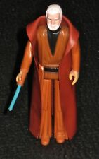 Star Wars Obi-Wan Kenobi Figure Original Cape & Blue Light Saber-Kenner 1977