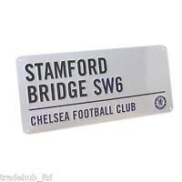 Official Football Club Stadium Street Wall Door Sign Licensed Merchandise New