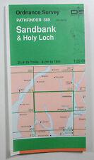 1982 OS Ordnance Survey Pathfinder 1:25000 map 389 Sandbank & Holy Loch NS 08/18