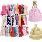 12X Barbie Puppenkleider Brautkleid Party Prom Sommer Strandkleid Süße Kleidung/