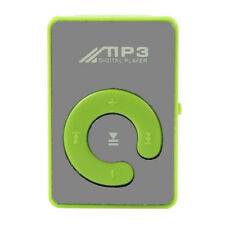 Mini Clip Flower Pattern MP3 Player Music Media Support Micro SD TF Card BK