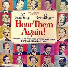 HEAR THEM AGAIN! (VARIOUS ARTISTS) 10 LP BOX - PREMIUM QUALITY USED LP (NM/EX)