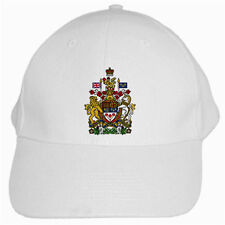New Canada Canadian Coat of arms for WHITE CAP Hat Free shipping