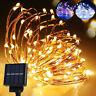 200 LED Solar Power Fairy Light String Lamp Party Wedding Garden Outdoor Decor K