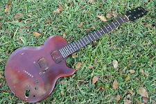 70's GIBSON L6S WINE RED GUITAR BODY & NECK DIY PROJECT! #172