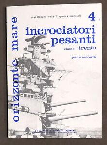 Orizzonte Mare - Incrociatori pesanti classe Trento Parte seconda 1975 Bizzarri