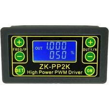 ZK-PP2K PWM DC Motor Speed Controller Frequency Duty Cycle Regulator Adjustable