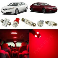 13x Red LED Interior Lights Package Kit for 2009-2014 Acura TL +Tool AT3R
