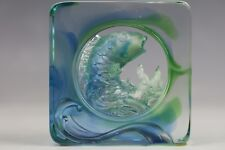 A Tittot of Crystal Glass Fish Limited Edition Signed
