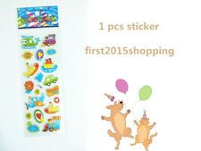 Stickers Airplane Craft 1pc Puffy Kid Scrapbooking Party Stickers Toys Gift A++
