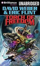 David Weber TORCH OF FREEDOM Unabridged MP3-CD 21+ Hrs *NEW* FAST 1st Class Ship