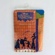 Disney Hunchback of Notre Dame Standard Pillowcase Festival of Fools 90s VTG