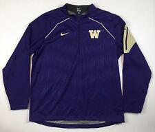 5cfdfbe8bb7f Washington Huskies Nike Men s Windbreaker Jacket XL Purple Waterproof Coat  ...