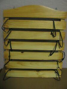 "Wooden Martial Arts Karate Judo Belt Display Holder 17"" x 14"""