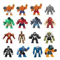 Marvel Avengers Hulk Das Ding Iron Man Action Mini Figur Venom Batman DC Figuren