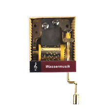 Handel - eau MUSIQUE (Wassermusik) - Manivelle musique boîte
