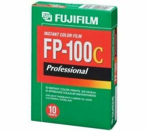 Fuji FP 100C Instant Polaroid Film 09/2018 Expiry Date (Working)