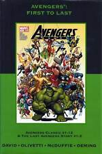 Avengers: First To Last - Marvel Premiere Classic Vol. 17 DM Edition Sealed - HC