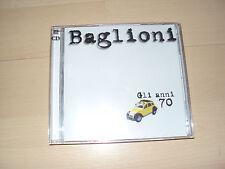 CD  BAGLIONI  Gli anni 70