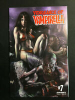 VENGEANCE OF VAMPIRELLA 7 VARIANT LUCIO PARRILLO NM VOL 2 1 COPY 2019 SACRED SIX