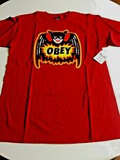 Sale New OBEY Graphic Tee Shirt Skater Surfer Street Designer Shirt Size Medium