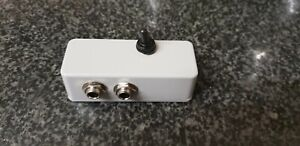 """JACKMET2 6.35 1/4"""" Jack stereo switcher 2 to 1 or 1 to 2"""