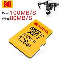 For Samsung Kodak micro SD TF card 128G high speed  C10 U1 4K  Flash Memory Card