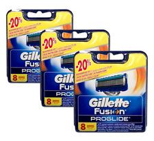 Gillette Fusion Proglide Rasierklingen, ersatzklingen 24- Stück NEU & OVP