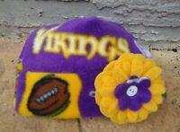 54499d20e24 New England Patriots Fleece Hat Size Newborn 0-3 Months Baby Girls ...