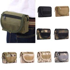 New Waterproof Military Tactical Travel Belt Waist Pack Bag Pouch Outdoor Pocket
