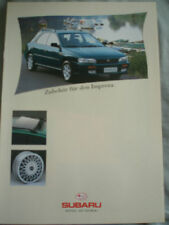 Subaru Impreza Accessories brochure Mar 1995 German text