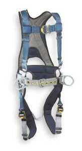 3M DBI-SALA ExoFit Construction Style Positioning Harness - Medium, Blue 1108501