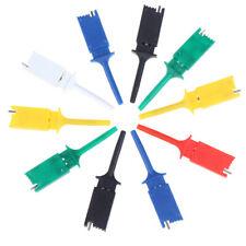 New Listing10pcs Test Hooks Clips For Measuring Instrument Test Clip Flat Hookkw