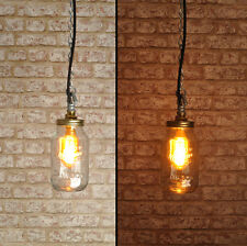 PROWER Ceiling Light pendant,  Kilner Jar Industrial Retro Style  Lamp CE MARKED