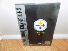 NFL Super Bowl Collection: Pittsburgh Steelers (DVD, 2005, 2-Disc Set) NEW