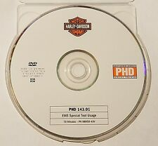 Official Harley-Davidson service training PHD DVD 143.01 EMS Special Tool Usage