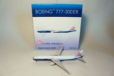 Phoenix Models 1:400 China Airlines Boeing 777-300 B-18007 (Boeing Livery) RARE