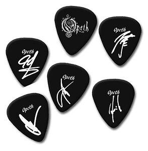 Opeth signature print plectrum guitar pick  Kikael Fredrik Joakim martin