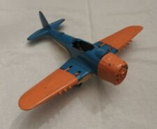 Vtg Hubley Kiddie Toy Navy Fighter Bomber No. 495 - for restoration or parts Usa