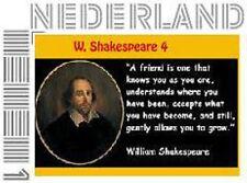 Nederland  2016   Shakespeare 4   postfris/mnh