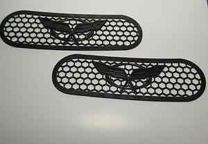 Side Vent Grilles For Chevrolet Corvette C5 Fender Cover 1997 - 2004 Chevy Grill