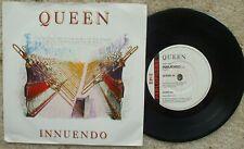 Queen - Innuendo / Bijou - Paper labels NM 45 + Pic Sleeve Queen 16