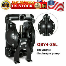 35gpm Air Operated Double Diaphragm Pump 1 Inlet Petroleum Fluid 12 Air Inlet