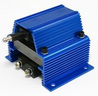 New High Performance Epoxy E-Core Blue 50KV Output Super Ignition Coil .35ohm