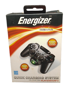 🎮Energizer Power And Play Charging System For PlayStation 3 PS3🎮 (A3)