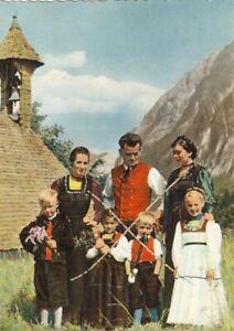Trachtengruppe aus dem Bregenzer Wald, Vorarlberg ngl G4539