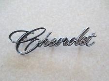 Original 1970s Chevrolet car emblem / badge