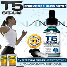 T5 FAT BURNERS XT SERUM FAST ACTING DIET SLIMMING WEIGHT LOSS SUPPRESS APPETITE