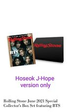 BTS ROLLING STONE USA J-Hope COVER JUNE 2021 FREE SHIPPING AND GIFT read desc.