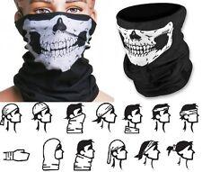 2 X Skeleton Skull Ski Face Mask Cycling Motorcycle Mask Bandana COD Ghost